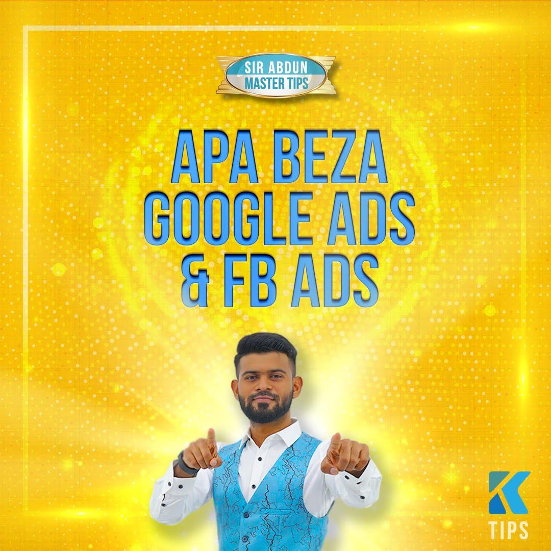 beza google ads dan facebook ads