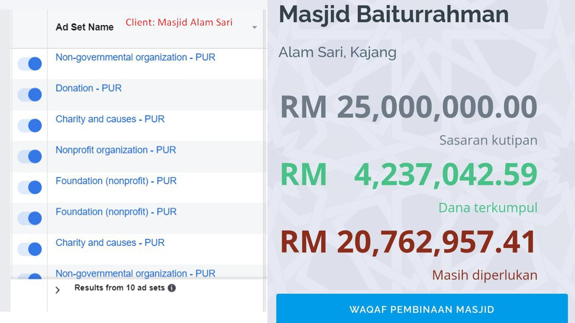masjid alam sari result